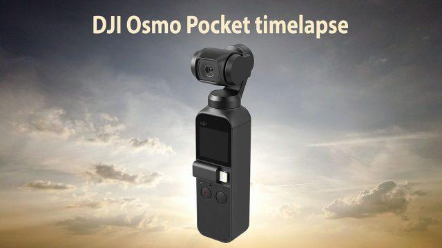 Timelapse Test Med DJI Osmo Pocket
