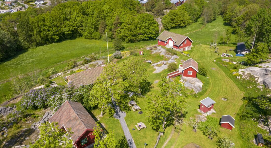 Drone Footage From Kystmuseet Hvaler